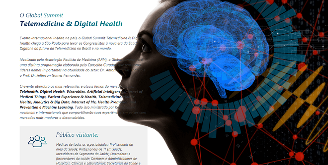 APM lança o Global Summit Telemedicine & Digital Health