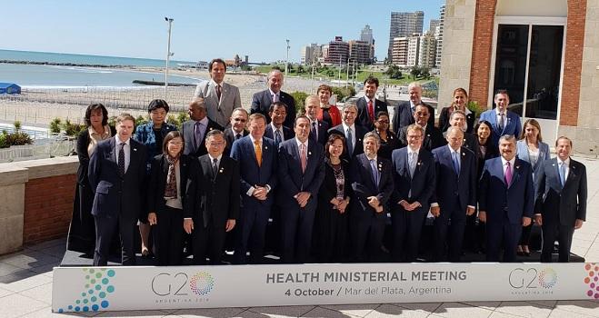 Ministros da Saúde do G20 assinam compromisso para uso racional de antimicrobianos