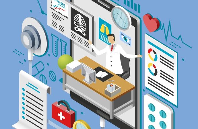 51% dos médicos realizam atendimento à distância