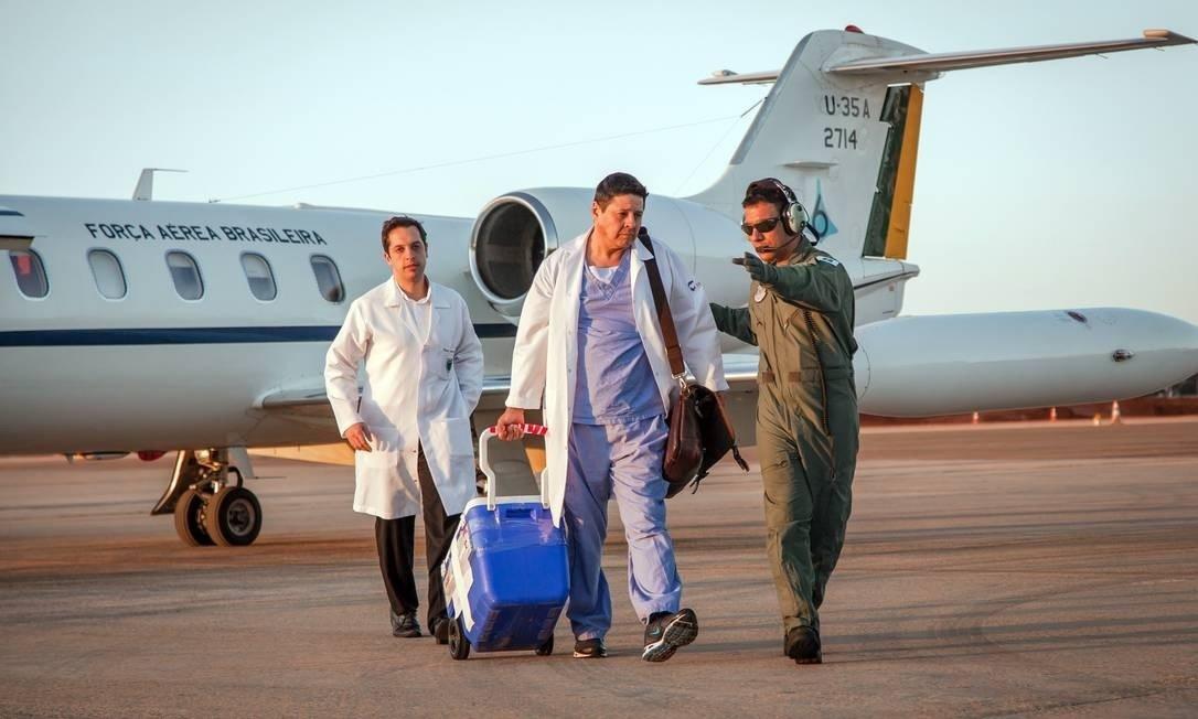 Uso de aviões da FAB para transporte de órgãos pode virar lei
