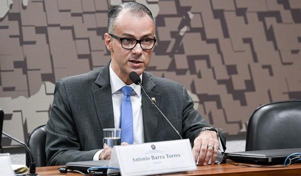 Senado aprova indicação de Antonio Barra Torres para direção da Anvisa