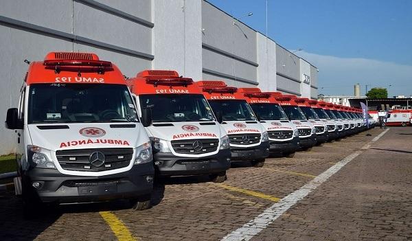Ministério da Saúde investe R$ 200 milhões em novas ambulâncias