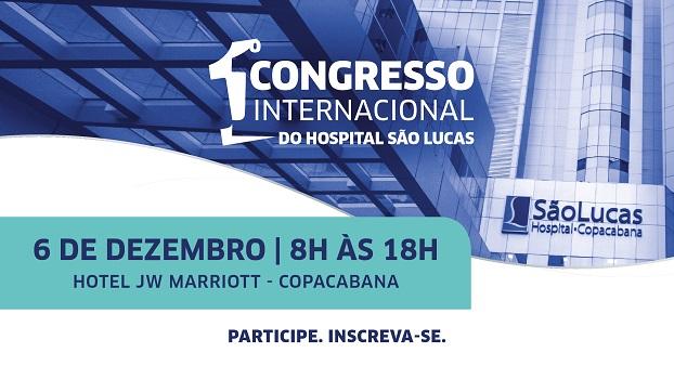 São Lucas Copacabana realiza congresso internacional