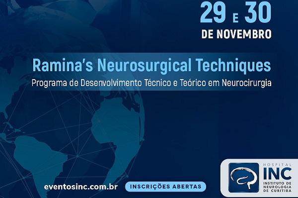"""Cirurgias """"ao vivo"""" ilustram o 1º módulo de curso de educação em neurocirurgia"""