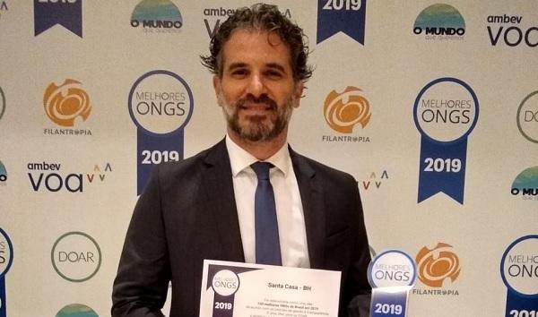 Santa Casa BH está na lista das 100 melhores ONGs do Brasil