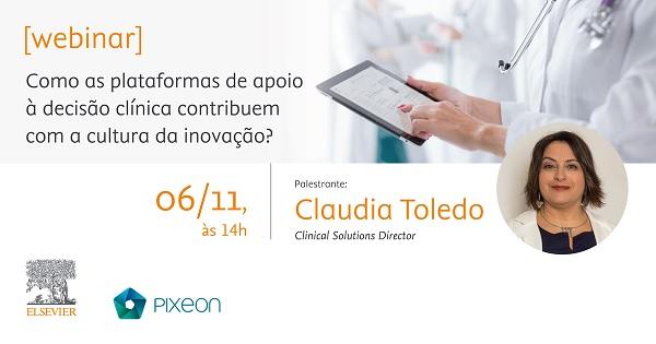 Webinar gratuito aborda inovação e soluções de apoio à decisão clínica