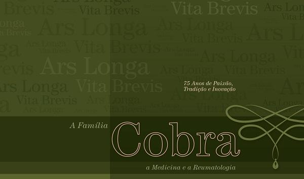 Clínica Cobra lança livro sobre Medicina e a Reumatologia