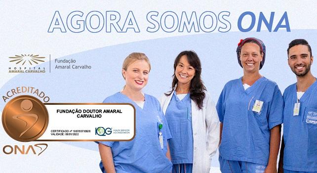 Hospital Amaral Carvalho recebe selo de qualidade nível l