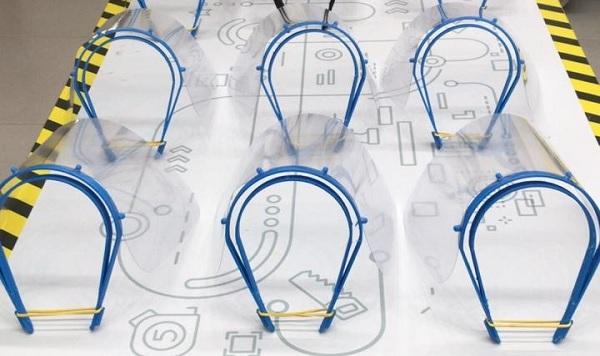 Sesc-DF cria máscaras em impressora 3D para proteger profissionais de saúde