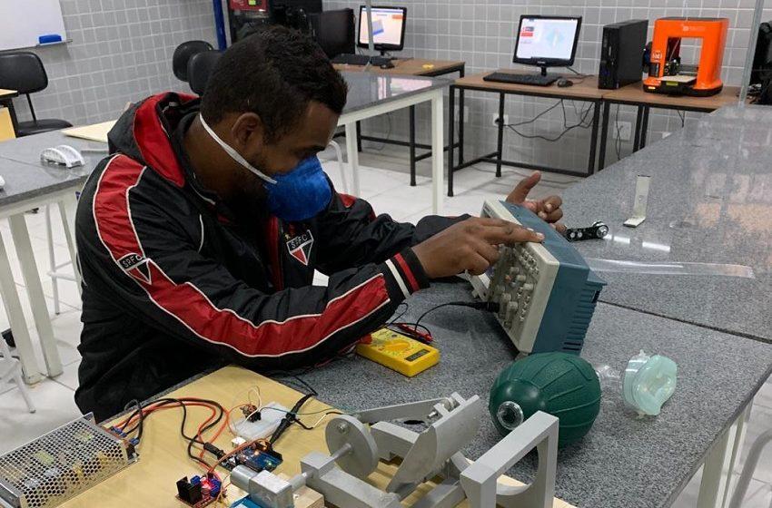 Universidade de Guarulhos desenvolve ventilador pulmonar de baixo custo