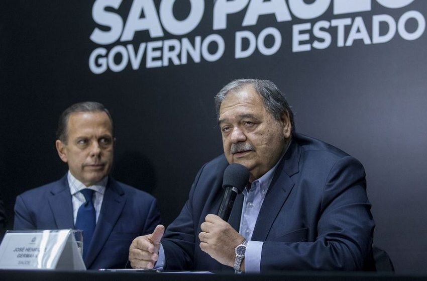 José Henrique Germann deixa Secretaria de Saúde de SP