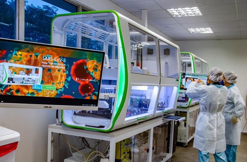 Fiocruz inaugura Unidade de Apoio ao Diagnóstico da Covid-19