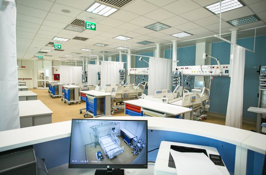 Instituto Humanitas inaugura Hospital de Emergência para Covid