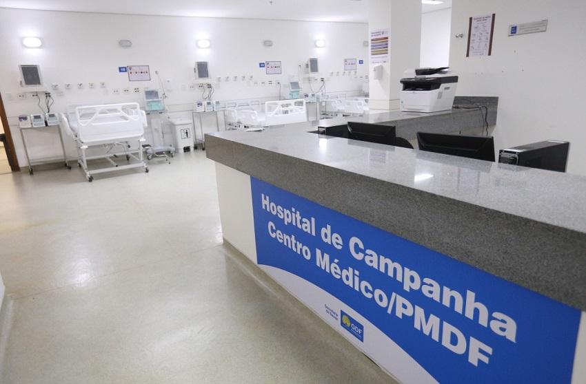 Brasília inaugura hospital de campanha para atender pacientes com Covid-19