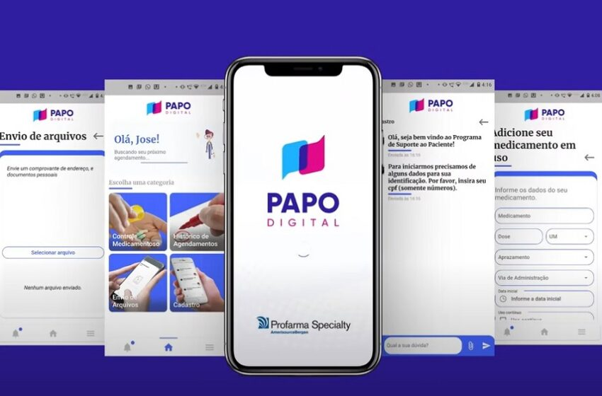 Novo aplicativo apoia programas de suporte ao paciente