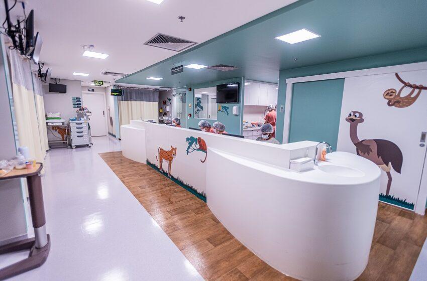 Hospital Anchieta inaugura UTIs neonatal e pediátrica