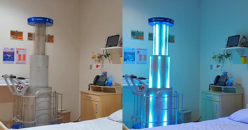BioLambda e Einstein desenvolvem equipamento para esterilização remota