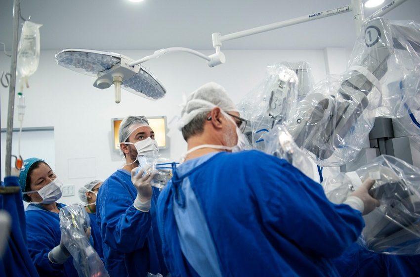 Hospital Erasto Gaertner ultrapassa marca de 300 cirurgias robóticas