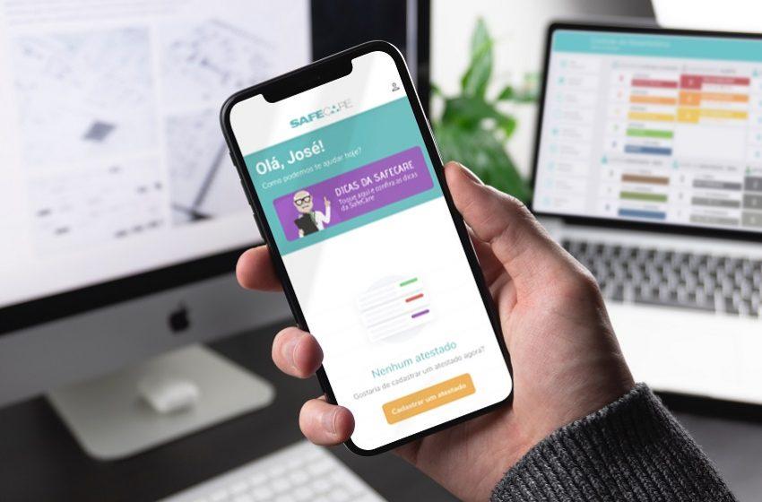 Safe Care lança aplicativo gratuito de gestão de saúde