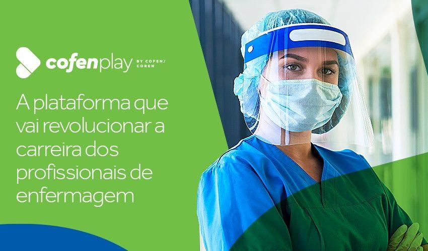 Cofen lança plataforma de capacitação para enfermagem