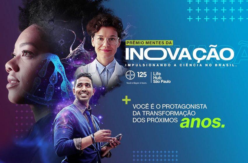 Prêmio Mentes da Inovação dará até R$ 180 mil para pesquisas